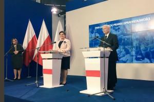 Beata Szydło i Jarosław Kaczyński o dwóch latach rządów PiS