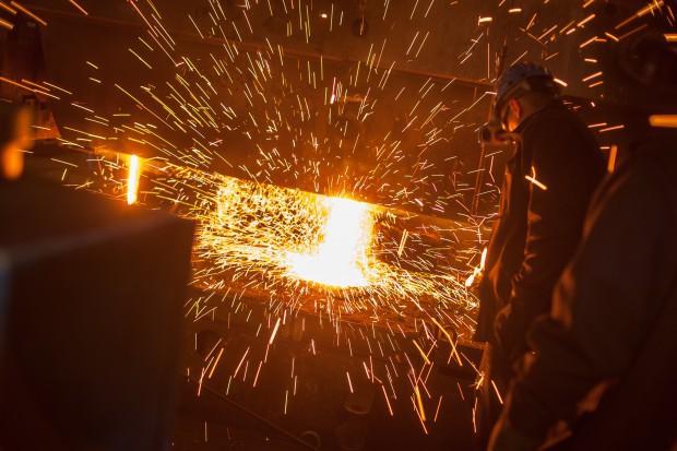 Zatrucie gazem w hucie stali