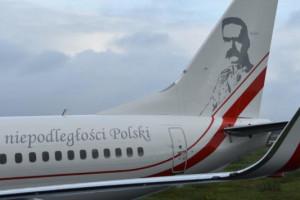 Pierwszy Boeing dla VIP-ów wylądował. Ma podobiznę Marszałka