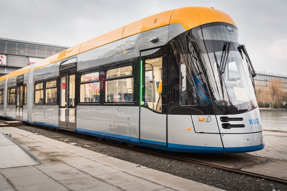 Tramwaj Solaris Tramino Lipsk. fot. mat. pras.