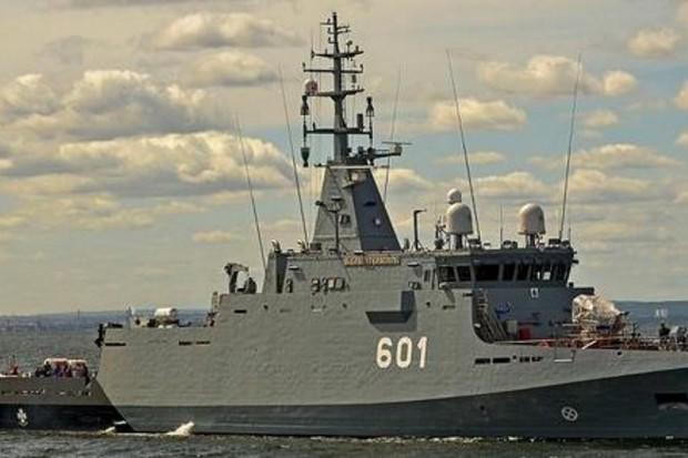 Marynarka Wojenna zaprezentowała okręt ORP Kormoran
