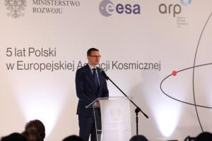 Mateusz Morawiecki obiecuje więcej pieniędzy na przemysł kosmiczny