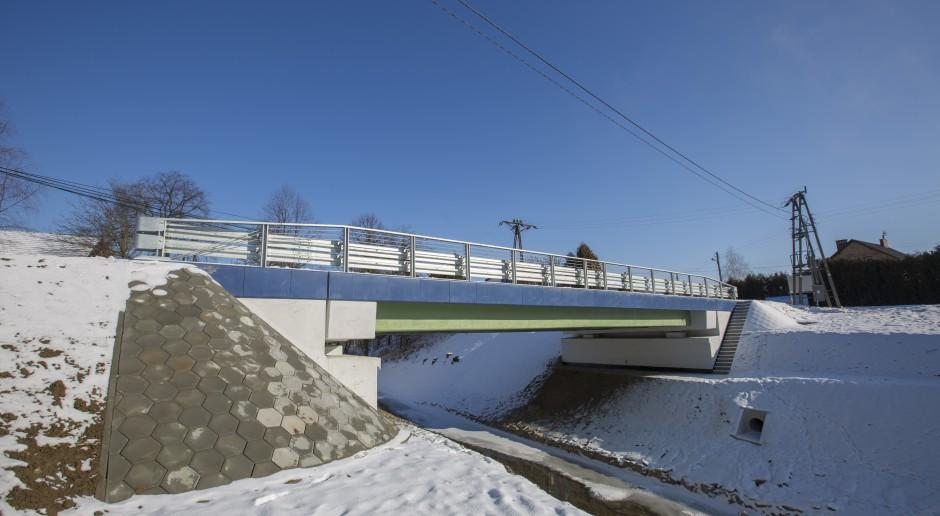 Most kompozytowy w Błażowej. Fot. Mostostal Warszawa