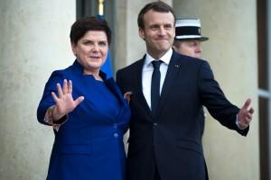 Szydło-Macron: Protokół rozbieżności politycznych. W gospodarce nasze relacje się układają