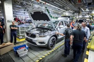 Wojna handlowa zmusiła Volvo do zmiany planów