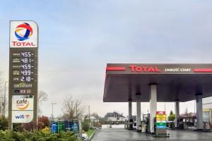 Pierwsza stacja Total na Mazowszu