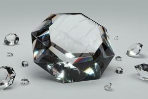 Udaremniono przemyt diamentów