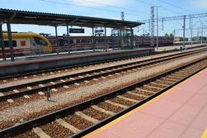 Trwa modernizacja linii kolejowej Kraków - Rzeszów