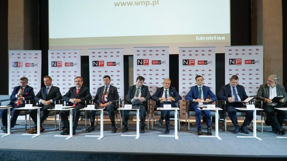 Panel inauguracyjny konferencji Górnictwo 2017, Katowice, 27 listopada. Fot. PTWP (Michał Oleksy)