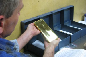 KGHM wyprodukował w tym roku ponad 3,1 tony złota oraz ponad tysiąc ton srebra