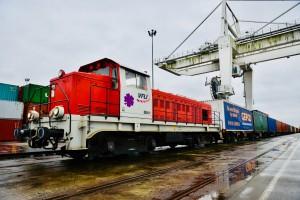 Dedykowany pociąg z chińskiego Wuhan dotarł do Dourges we Francji