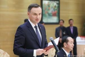 Andrzej Duda: Wietnam dla Polski bramą do Azji, a Polska dla Wietnamu bramą do UE