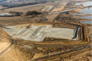 Budowa zbiornika Racibórz Dolny - zaawansowana w ponad 50 proc.