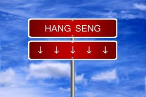 Hang Seng Index z największym spadkiem od roku
