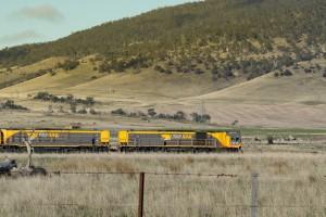 Pociągi w Australii z nawigacją satelitarną