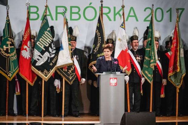 Premier, prezydent i szef MON do górników: węgiel podstawą polskiej gospodarki