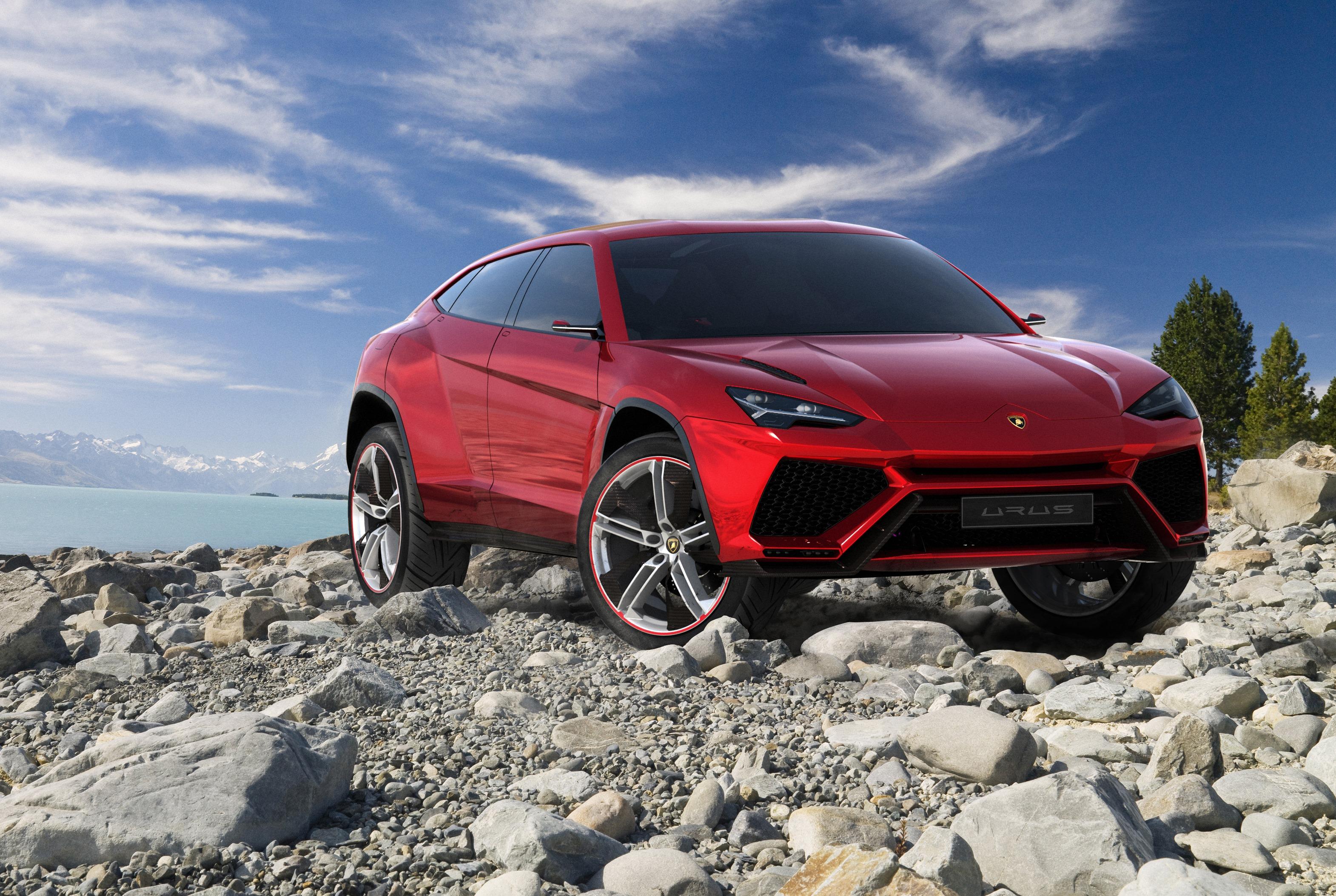 Lamborghini Urus Fot. mat. pras.