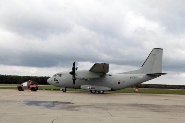 Samoloty C-27J Spartan nie mieszczą się w słowackim hangarze