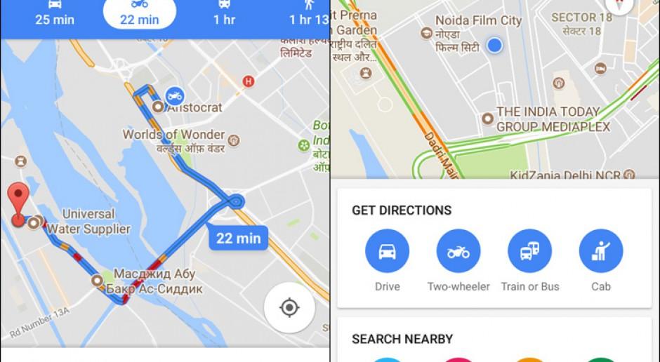 Mapy Google Pokazuja Najlepsza Trase Dla Motocyklistow Tech