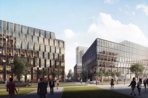 Był dworzec PKS, będzie rynek. Skanska buduje nowy kwartał w Poznaniu