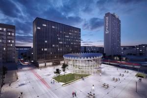 Huta Pokój buduje stalową konstrukcję warszawskiej Rotundy