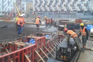 Prace przy budowie nowej Rotundy w Warszawie. Zdjęcia: Węglokoks