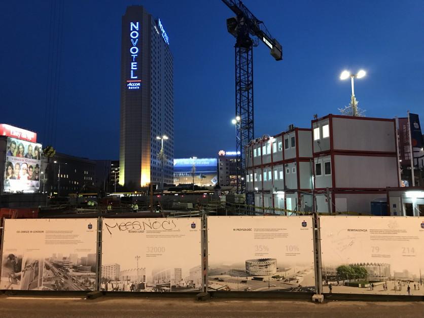 Zdjęcie numer 2 - galeria: Huta Pokój buduje stalową konstrukcję warszawskiej Rotundy