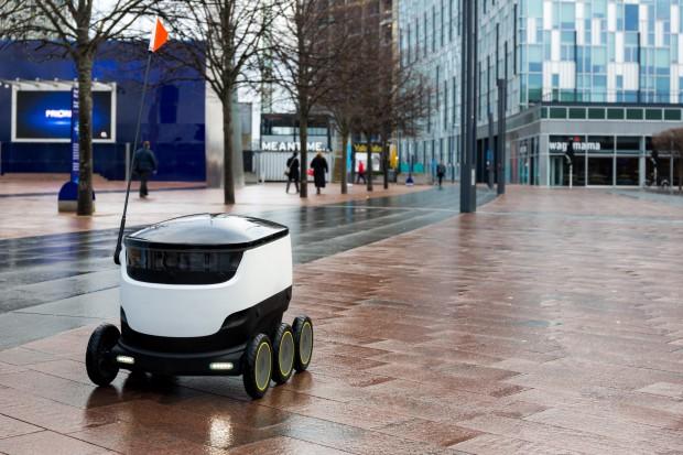 Roboty dostawcze z pozwoleniami na poruszanie się po ulicach San Francisco