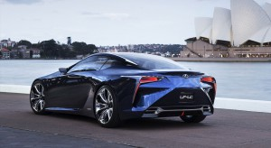 Lexus przygotowuje koncept flagowego crossovera LF-1