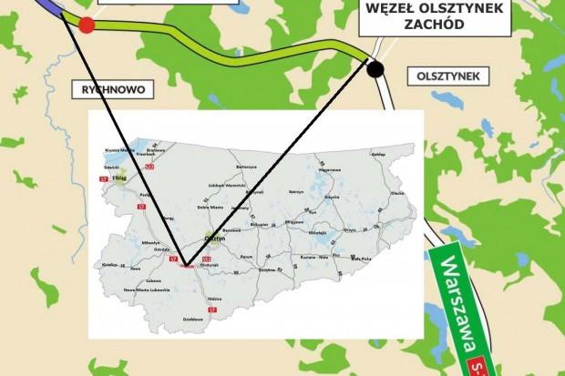 Odcinek S7 Rychnowo - Olsztynek oddany do użytku
