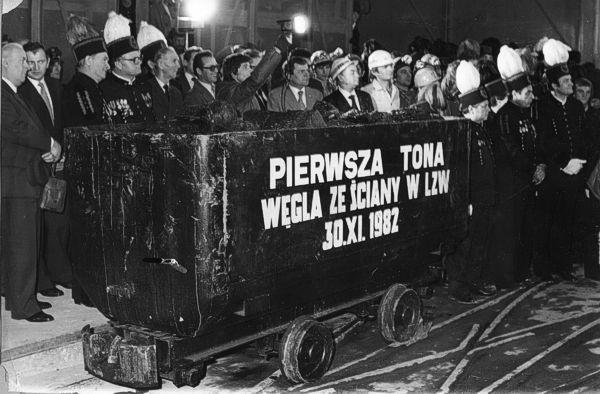 Pierwsza tona węgla w Bogdance Fot. LW Bogdanka
