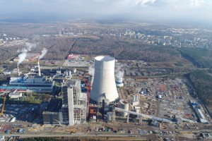 Ponad 0,4 mld zł na tory do bloku 910 MW w Jaworznie. Kontrakt podpisany