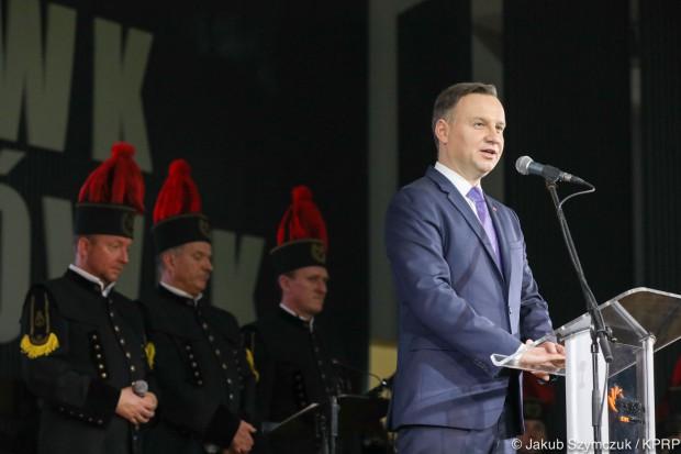 Andrzej Duda: zadaniem rządzących dbać o górników i polskie górnictwo