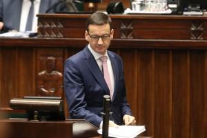 Expose Mateusza Morawieckiego: Chcemy dokonać wielkiej modernizacji Polski