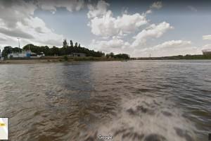W Google Street View można też popływać Wisłą