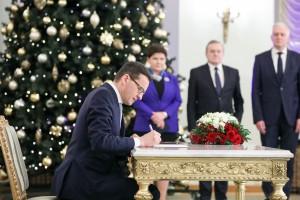 Mateusz Morawiecki na czele starego-nowego rządu