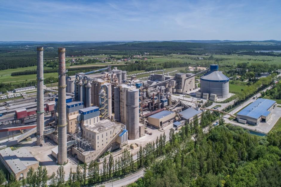 Cementownia Małogoszcz. fot. Lafarge w Polsce