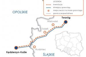 140 mln zł dofinansowania na ważny gazociąg Gaz-Systemu