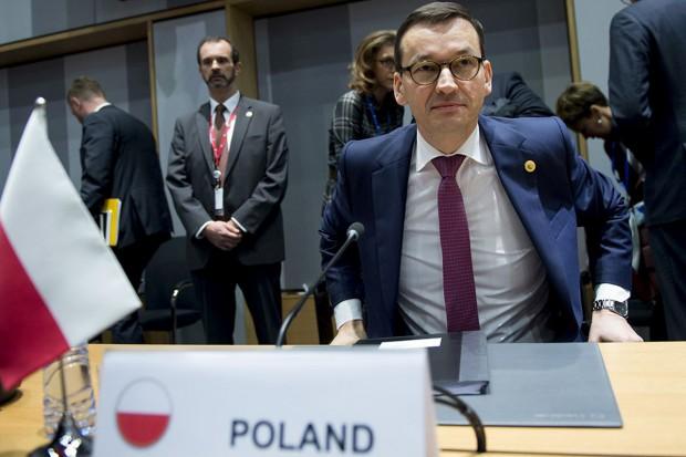 Mateusz Morawiecki nie łączy reparacji z Nord Stream 2
