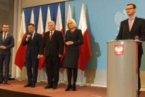Premier Morawiecki ogłosił skład swojego gabinetu
