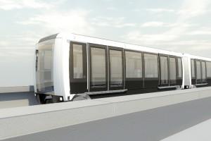 Innowacyjny automatyczny pociąg dowiezie pasażerów na lotnisko