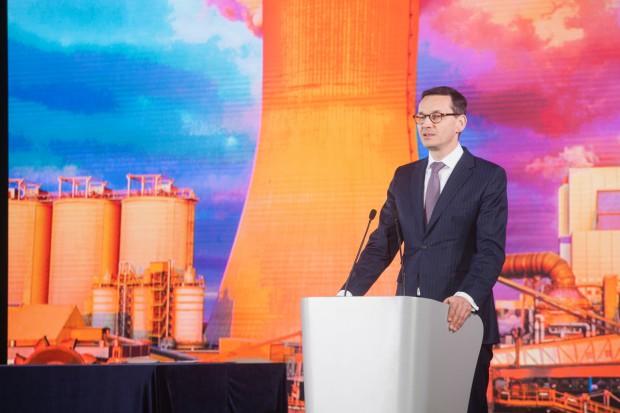Mateusz Morawiecki: nowy blok energetyczny w Elektrowni Kozienice zwiększy bezpieczeństwo energetyczne