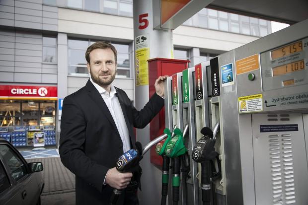 Michał Ciszek: Circle K chce 10 proc. polskiego rynku stacji paliw