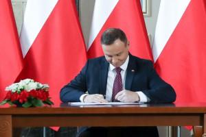 Andrzej Duda podpisał nowelizację Kodeksu wyborczego