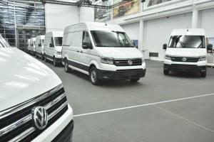 Volkswagen wypuścił na ulice pierwsze elektryczne Craftery. Na razie tylko do testów
