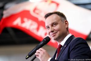 Andrzej Duda: elektromobilność oznacza mniejszy smog