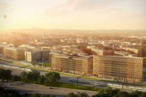 Skanska sprzedała biurowce High5ive w Krakowie