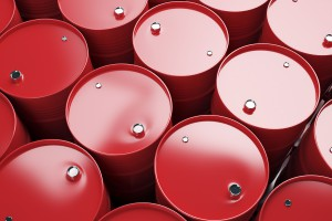 Ceny ropy naftowej z wojną handlową w tle