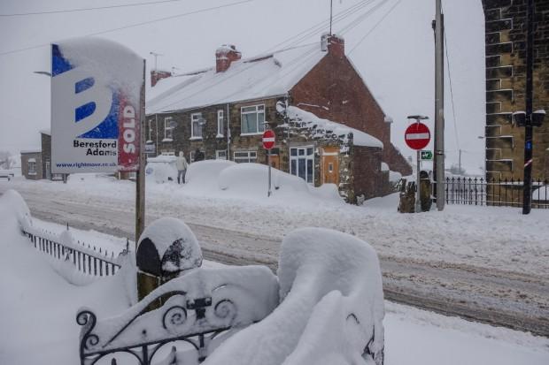 Wielka Brytania sparaliżowana przez mróz i śnieg