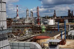 Rafineria w Możejkach z wizytą premiera Litwy
